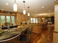 American Hickory is a classic wood floor covering for