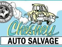 At Chesney Auto Salvage, we have more than 7000