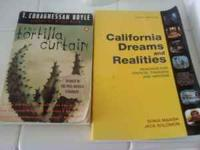 i have the books tortilla curtain and california dreams