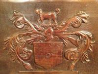 English Carved Panel. $265. Mess Antiques. 5015 Lovers