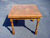 Wonderful antique English Pub Table complete with the