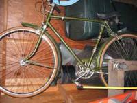 EXTREMELY RARE 1967 ENGLISH 3-SPEED RALEIGH SPORT