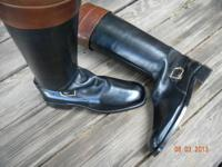 Mens Gucci English Riding Boots. Custom made in Italy