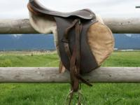 English Saddle 17 inches, can bring to Missoula Tuesday