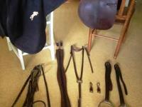 Complete set of English riding/jumping/showing tack.