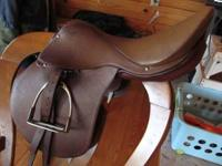 Family English Saddle for sale. Made in 1970's,