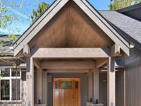 Enjoy the Sunriver lifestyle in this Craftsman style