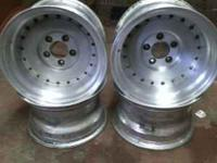 Selling a set of 5 lug Enkei aluminum welded rims. they