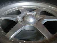 Almost New Set of 4 Aluminum Enkei Center Line Wheels