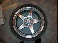 I have for sale a set of Enkei wheels. they are 18in