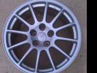 "I have a set of 18X9.5"" Enkei Rims that came off my"