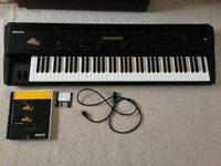 The Ensoniq MR 76 workstation is a great board. Good