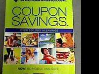 Brand NEW book full of coupons, come with membership