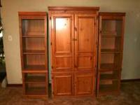 3-Piece Entertainment Center for Sale. Very good
