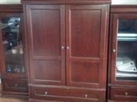 3 piece home entertainment center - TV cabinet with
