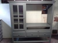 PRICE REDUCTION. Rustic nation entertainment center.