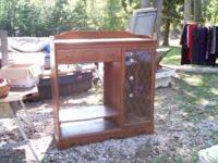 Entertainment center for sale, Has a nice side display