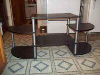 black & metal entertainment center $20 will deliver