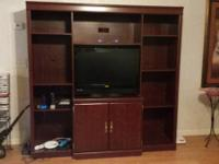Large Entertainment Center for sale $200.00       6 x