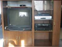 Entertainment Center $ 60.00 With TV Call  Location: