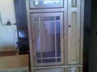 Entertainment Center for sale, Solid Wood, in great
