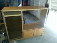 For Sale Entertainment Center Has space for TV, video