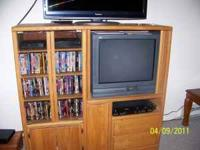 Nice entertainment center for 75.00 obo.  Location: