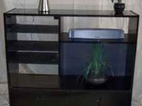 Entertainment center -Black Laquer finish. A great