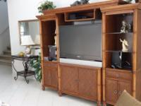 Type: Living Room Type: Entertainment Center Rattan