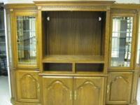 This Entertainment Center / Curio Cabinet is in