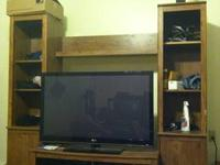 FOR SALE $200 OBO: Ethan Allen Entertainment Center,