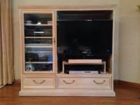 "Excellent condition. 56""W x 21""D x 52""H with 6 shelf"