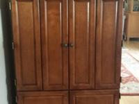 Very Attractive Armoire in Great Condition!Brand: