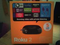 Roku 2 Streaming Player - 1,000 + Channels of popular