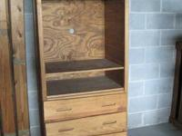I have a solid wood entertainment center for sale. It