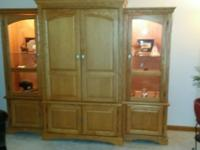 Entertainment Display Center: 3 Piece Wall Unit