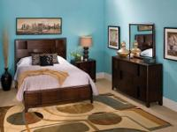 Beautiful Saratoga 4-pc. Queen Platform Bedroom Set