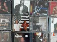 For sale...my entire Rap Hip/Hop CD collection