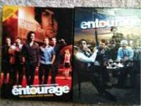 Entourage seasons 1&2. Excellent condition. Text
