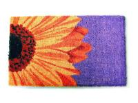 Designed by an artist, this distinctive mat is a work