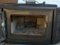 Like New Enviro Kodiak 1700 wood stove insert. $650