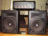 Amp&Speakers plug 4 drums,bass,mics,mp3  Location: