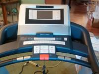 Epic Treadmill - used very little and very gently.