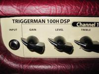 We have an Epiphone Triggerman amp for $125. It is in