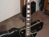 2007 EPIPHONE BLACK BEAUTY IN EXCELLENT CONDITION, GOLD
