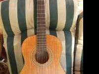 Nice Epiphone classical parlor guitar, smaler size for
