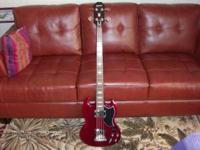 I Have A Very Nice Epiphone EB-3 For Sale. It Is In