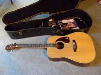 Epiphone Gibson Acoustic Guitar with case, good