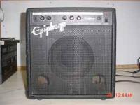 EPIPHONE GUITAR AMPLIFIER MODEL: EP-800 WORKS GREAT