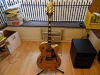 Up for sale is an Epiphone Joe Pass Emperor II in